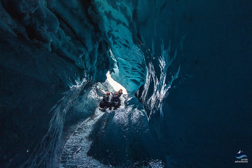 Glacier Ice Cave Iceland