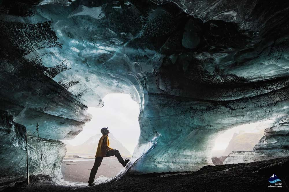 The Ice Cave under the Volcano from Vk  Day Tours