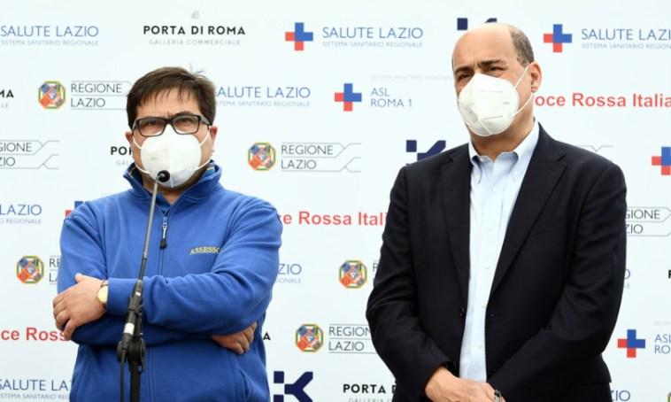 La Regione Lazio sospende l'Open week AstraZeneca per gli over 18