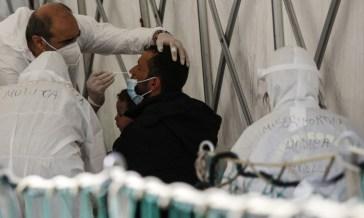 In Italia casi Coronavirus in aumento con 4.598 nuovi positivi e 50 morti, 1% positività