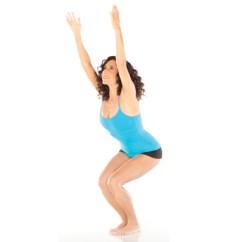 Yoga Chair Pose Kids Spinning Of The Day Utkatasana