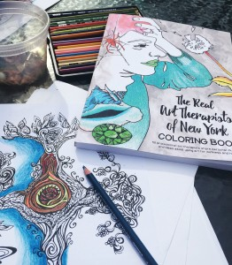 The Real Art Therapists of New York Coloring Book