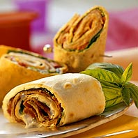 Tortilla Wraps are easy, nutritious and fun to make and eat!