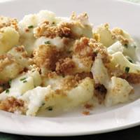 Skillet Cauliflower Gratin