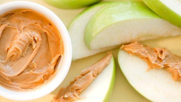 apple peanut butter pre-workout snack