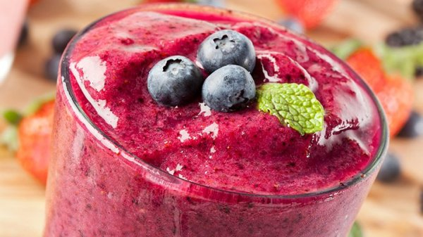 fruit smoothie pre-workout snack