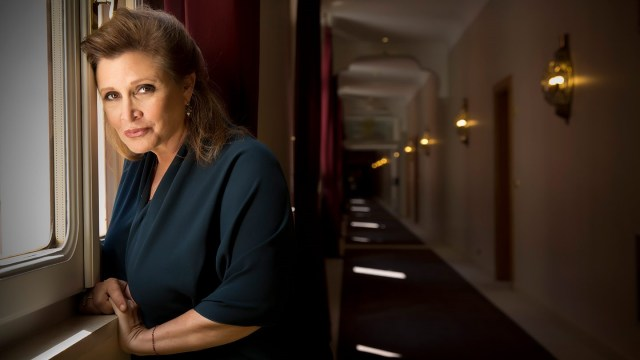 Carrie Fisher who lived with bipolar disorder