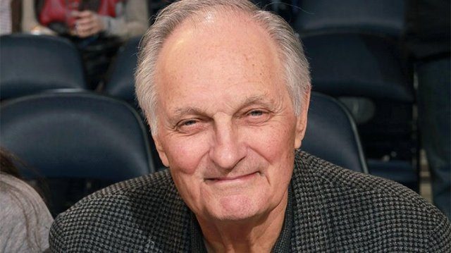 Alan Alda, who announced he has parkinson's disease