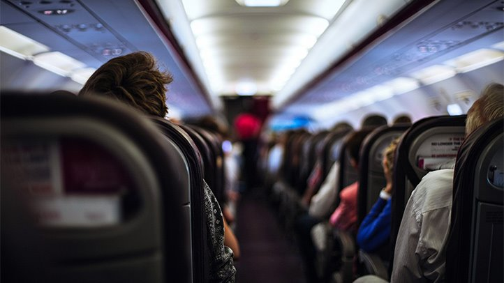 Duduk di pesawat