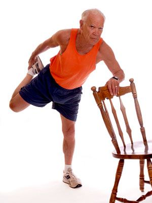 chair exercises for seniors dvd australia pride lift controller 11 exercise ideas senior health center everyday to stretch your quadriceps start by standing behind a and grabbing it with right hand bend left leg you grab foot