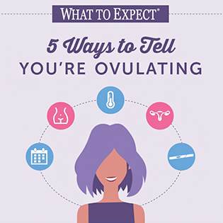 5 Ways to Tell You're Ovulating | motherhoodstudy