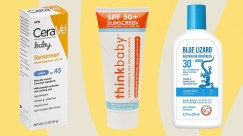 Baby lotions and suntan lotions can contain zinc. Don't let dogs lick these off you!