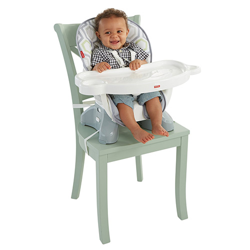 high chair amazon henriksdal cover 8 versatile baby feeding seats for small spaces what to expect fisher price spacesaver