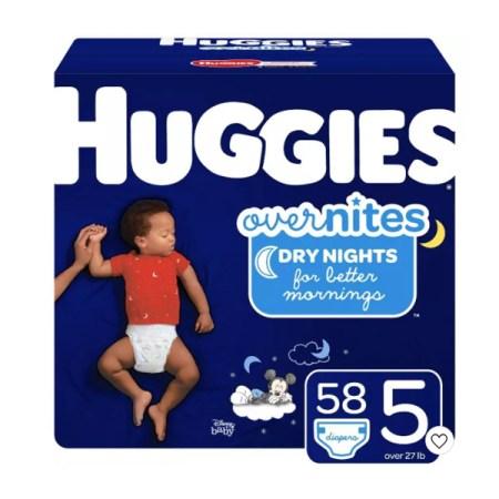 Best Overnight Diapers - Huggies Overnites Diapers