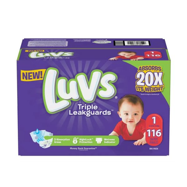 Best Overnight Diapers - Luvs Disposable Triple Leakguards