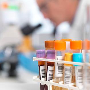 blood vials for carrier genetic screenings