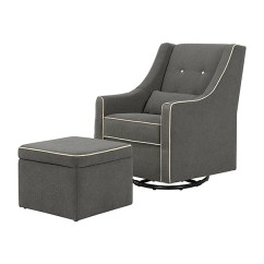 Best Glider Chairs Swivel Chair Olx Nursery Rocking What To Expect Davinci Owen And Storage Ottoman