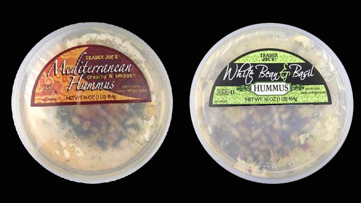 2 types of trader joe's hummus recalled due to potential