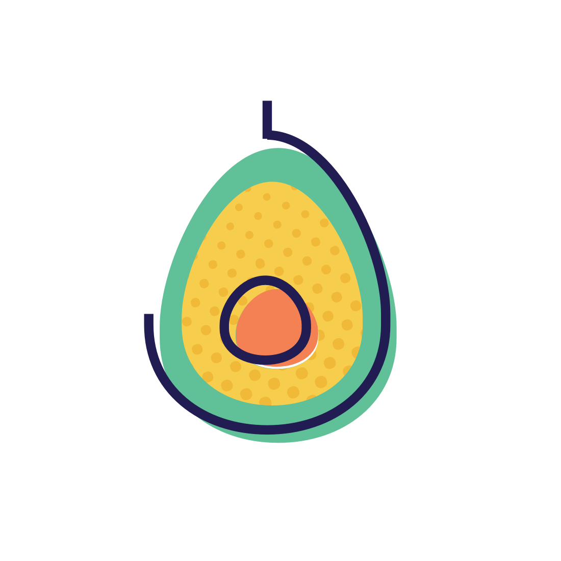 avocado [ 1100 x 1100 Pixel ]