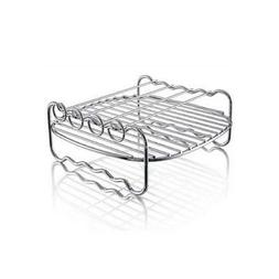 Air Fryers Double Layer Rack with 4 Skewers
