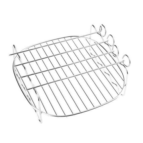 Air Fryer Accessories, Double Layer Skewer Rack Tray