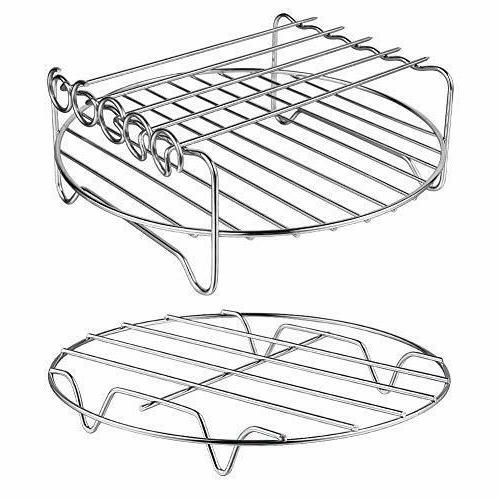 XL Air Fryer Rack Set of 2 Double