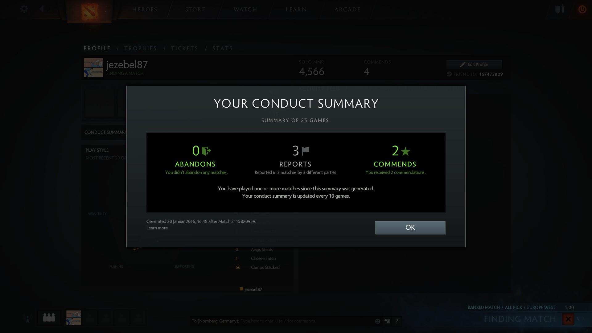 General Discussion Playerbehaviorscorelastreport