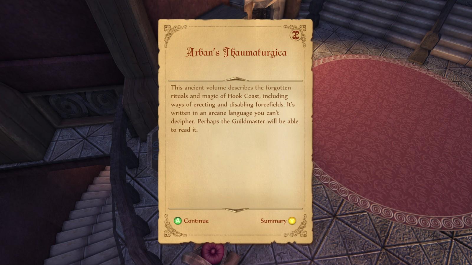 Arban's Thaumaturgica