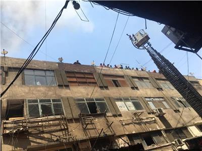 محافظة القاهرة يعلن السيطرة على حريق سوق التوفيقية دون إصابات   بوابة أخبار  اليوم الإلكترونية