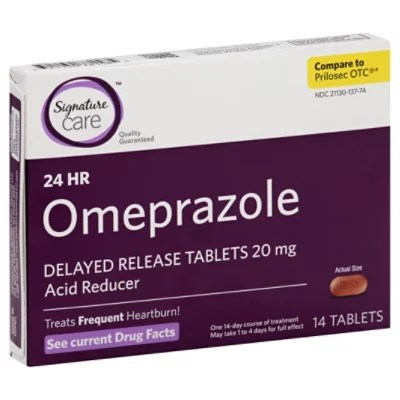 Signature Care Omeprazole A - Online Groceries   Albertsons