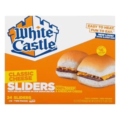 white castle 24pk cheeseburgers 2 75