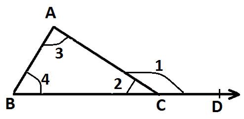 Exterior Angle Property of a Triangle at Algebra Den