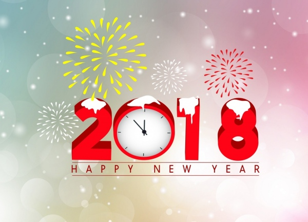 Vector happy new year for free download about 3263
