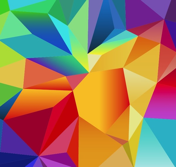Vector Abstract Texture Polygon Free Vector Download
