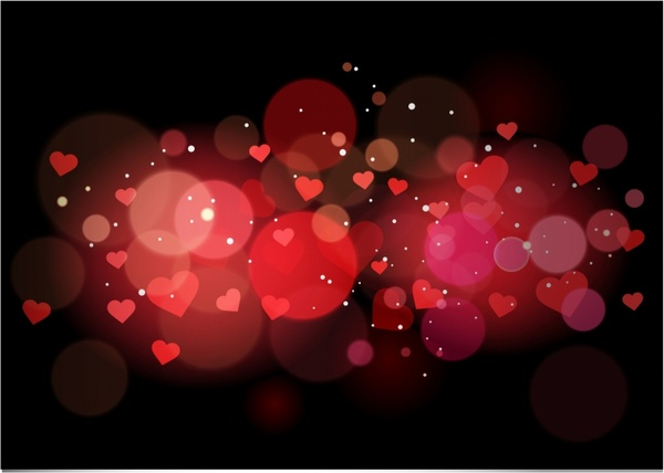 Red Heart Background Free Vector Download (50,244 Free