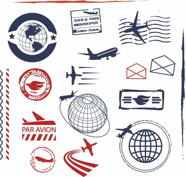 Stamp Free Vector Download 809 Free Vector For