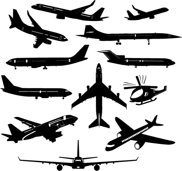 Airplane free vector download (343 Free vector) for