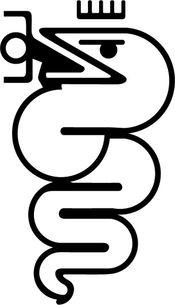 Alfa romeo 6 Free vector in Encapsulated PostScript eps