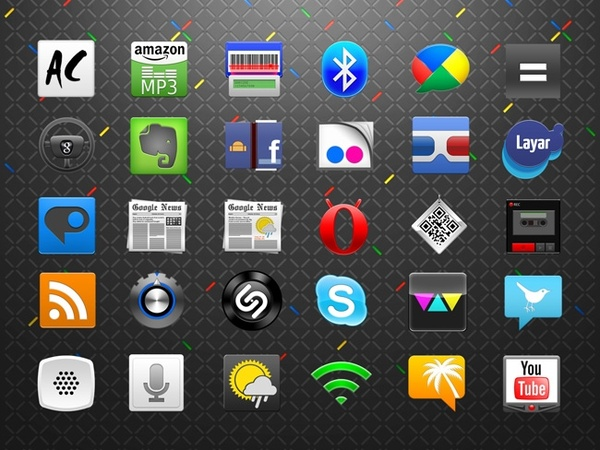 Download Android Icons Set icons pack Free icon in format for free ...