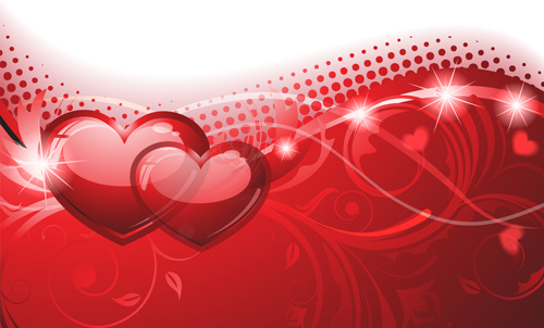 Free Romantic Heart Border Vector Free Vector Download
