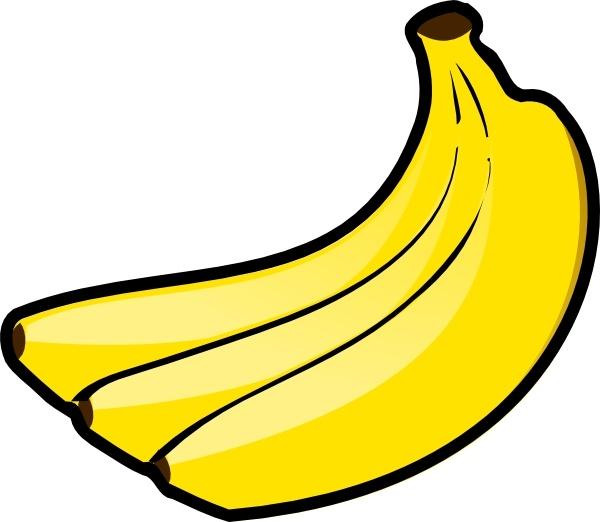 bananas clip art free vector