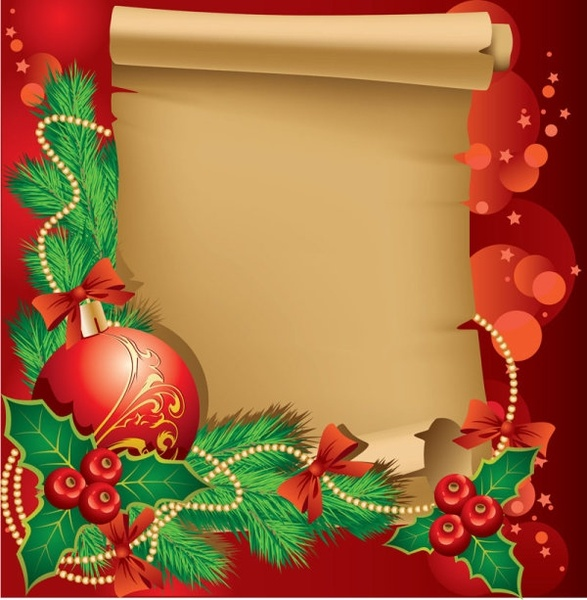 Modern Christmas Border Free Vector Download 20053 Free