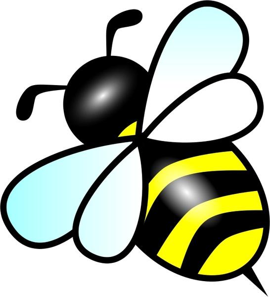 bee free vector in