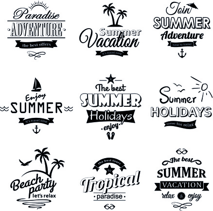 Summer holidays clip art free vector download (220,395