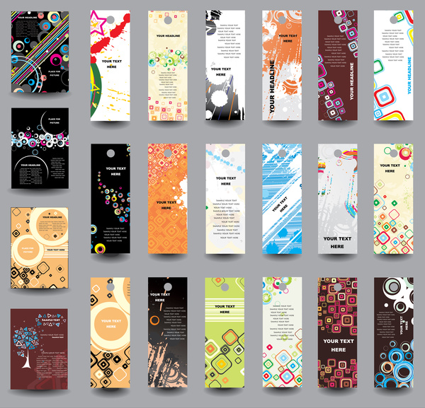 Free bookmark designs free vector download 176 Free