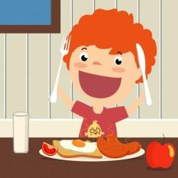 Breakfast Icon For Kids