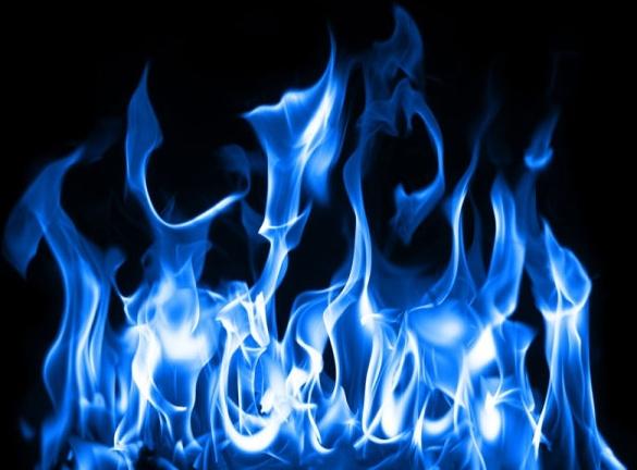 brilliant blue flame 01