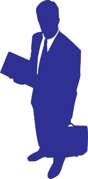 business man clip art free vector