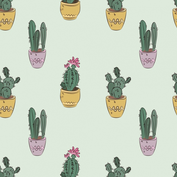 Cute Styles Girl Wallpaper Cactus Free Vector Download 148 Free Vector For