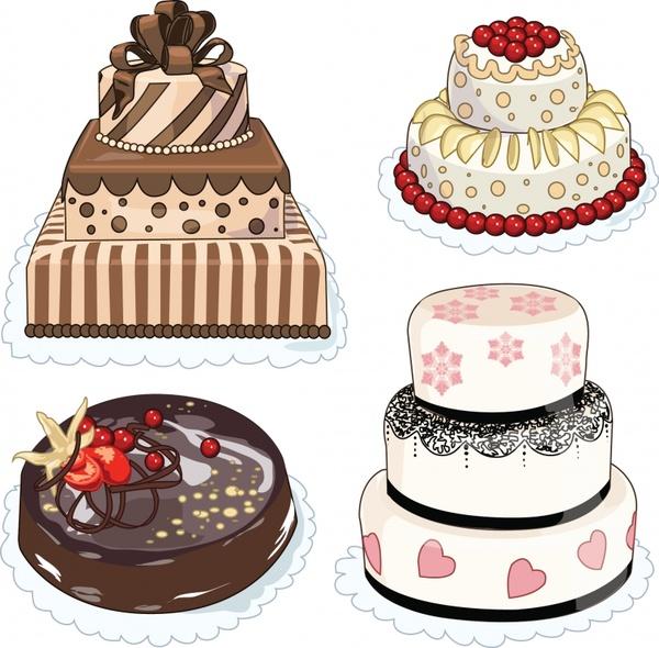 Cartoon bakery cake vector Free vector in Encapsulated PostScript eps ( .eps ) vector illustration graphic art design format format for free ...